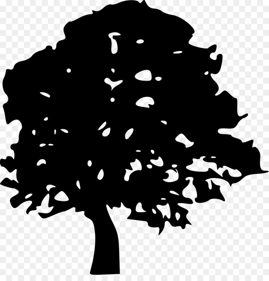 Tree Drawing Stencil Clip Art.