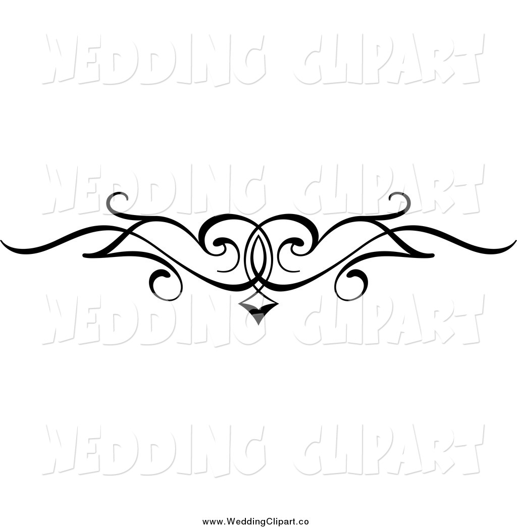 Border Design Clipart Black And White.