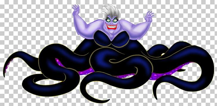 Ursula Ariel Maleficent Cruella de Vil Evil Queen, ursula.