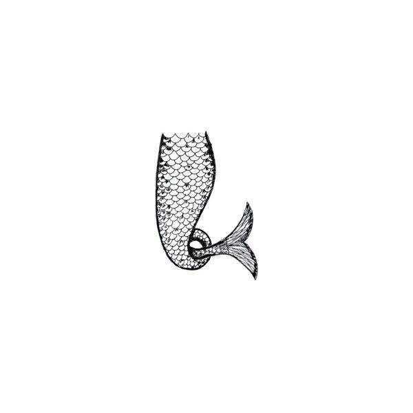 Tiki\'s mermaid tail.