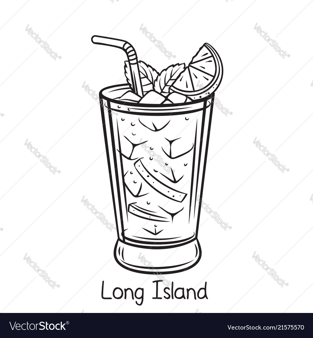 Long island cocktail.