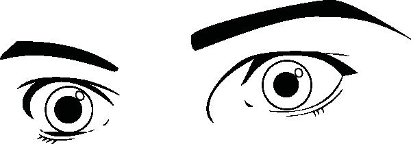 Open Eyes Clipart.