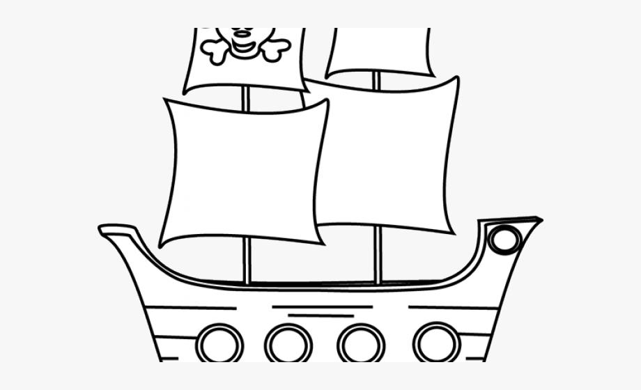 Pirate Ship Clipart.