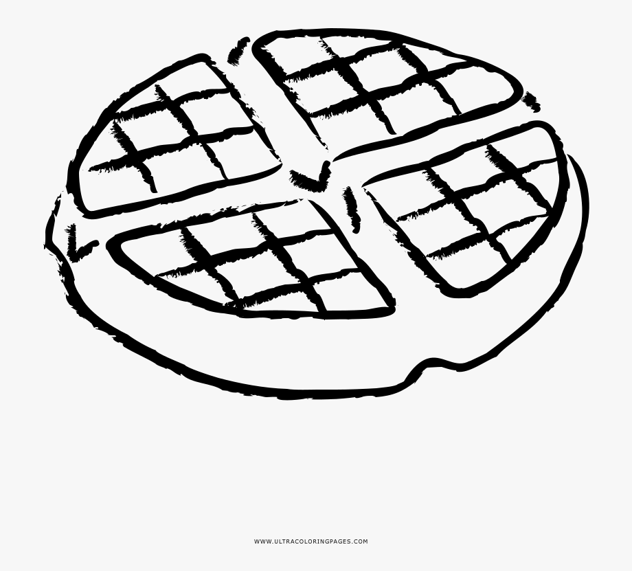 Waffles Coloring Pages.