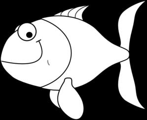 White Fish Clip Art at Clker.com.