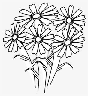 Free White Flower Clip Art with No Background.