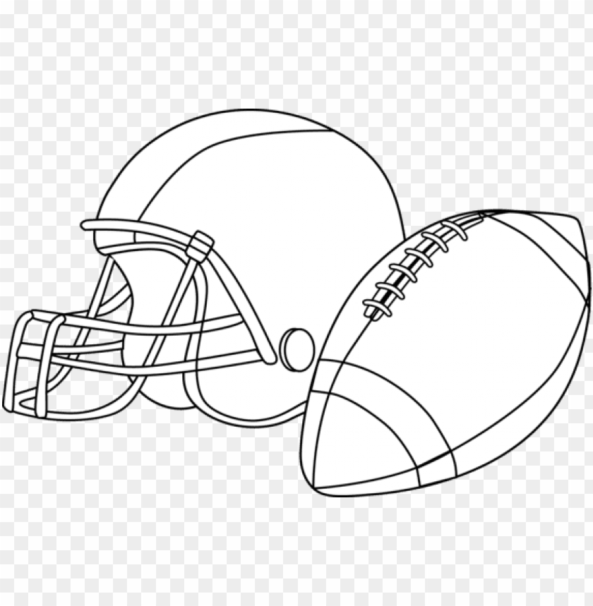 football black and white football clipart black and.