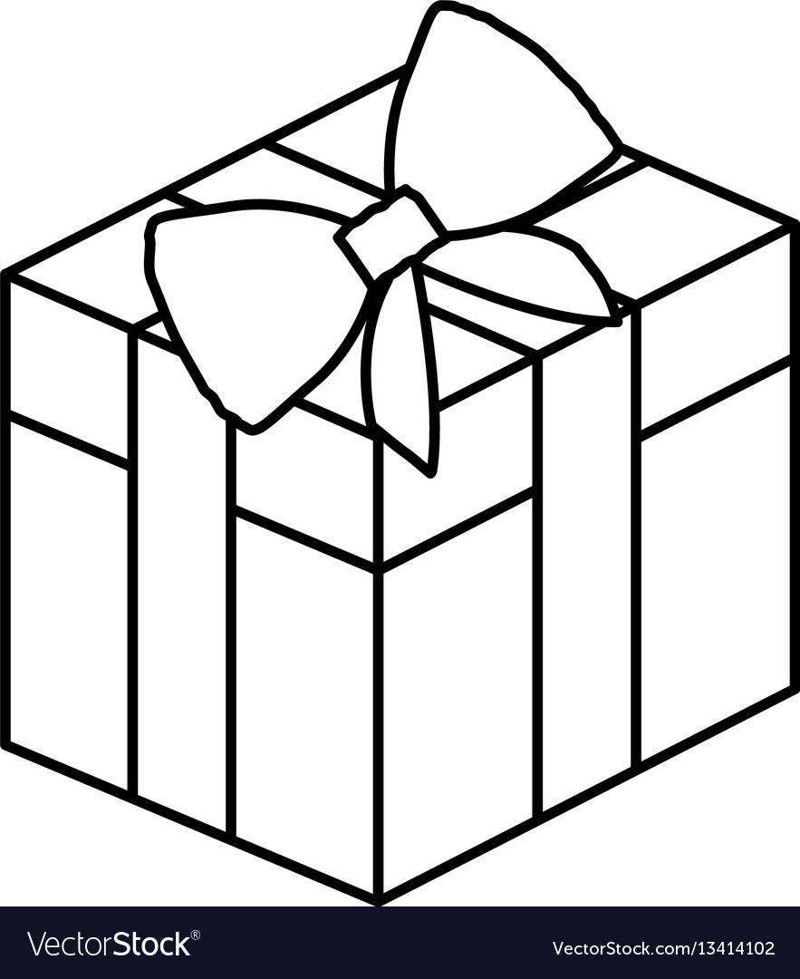 2430 Gift Box free clipart.