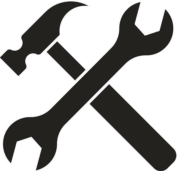 Hammer And Wrench Clipart.