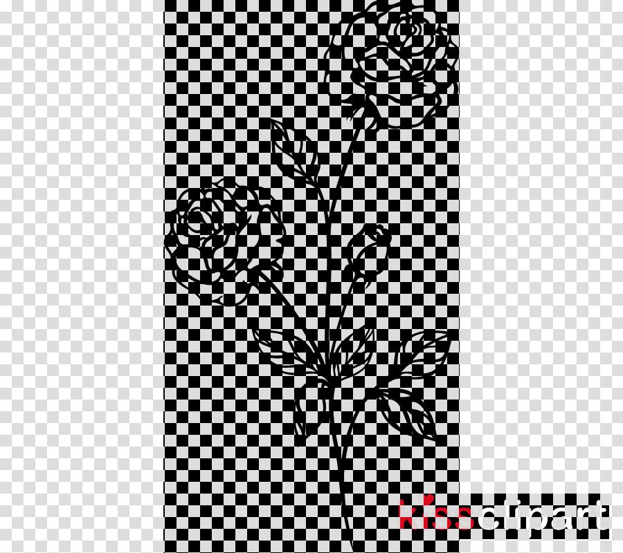 flower white plant black.