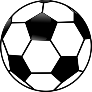 Black And White Soccer Ball Clip Art at Clker.com.