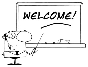 Welcome clipart black and white 11 » Clipart Station.