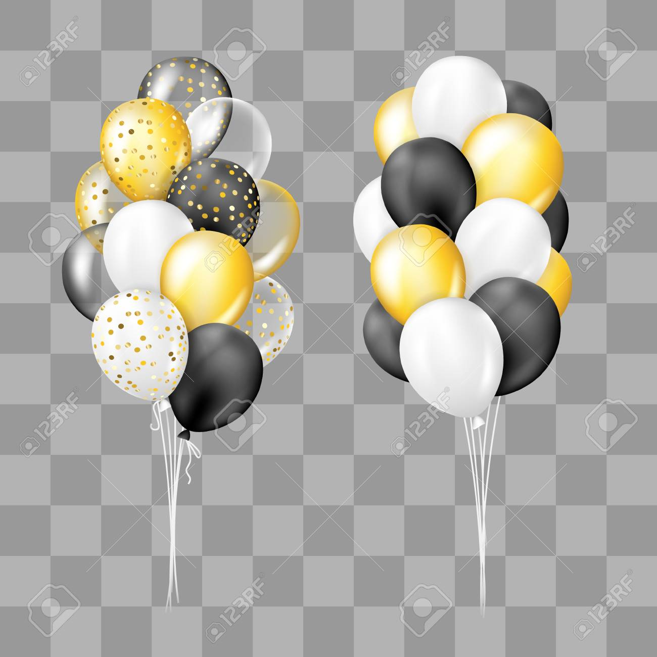 5747 Balloons free clipart.