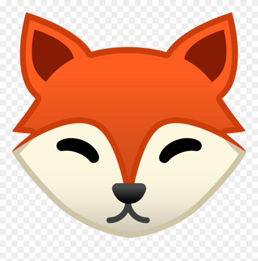 Fox Face Icon.