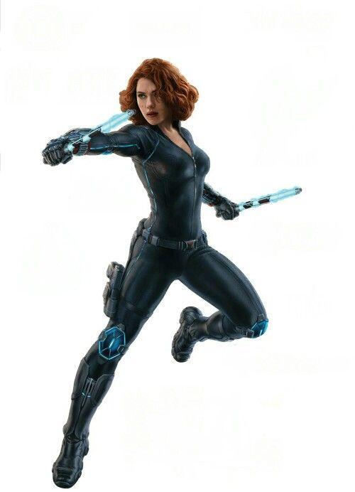 Black Widow Marvel Clipart.