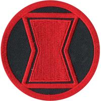 Marvel Black Widow Logo Patch.