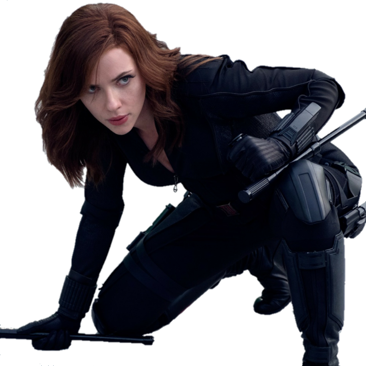 Download Free png Black Widow PNG Render by MrV.