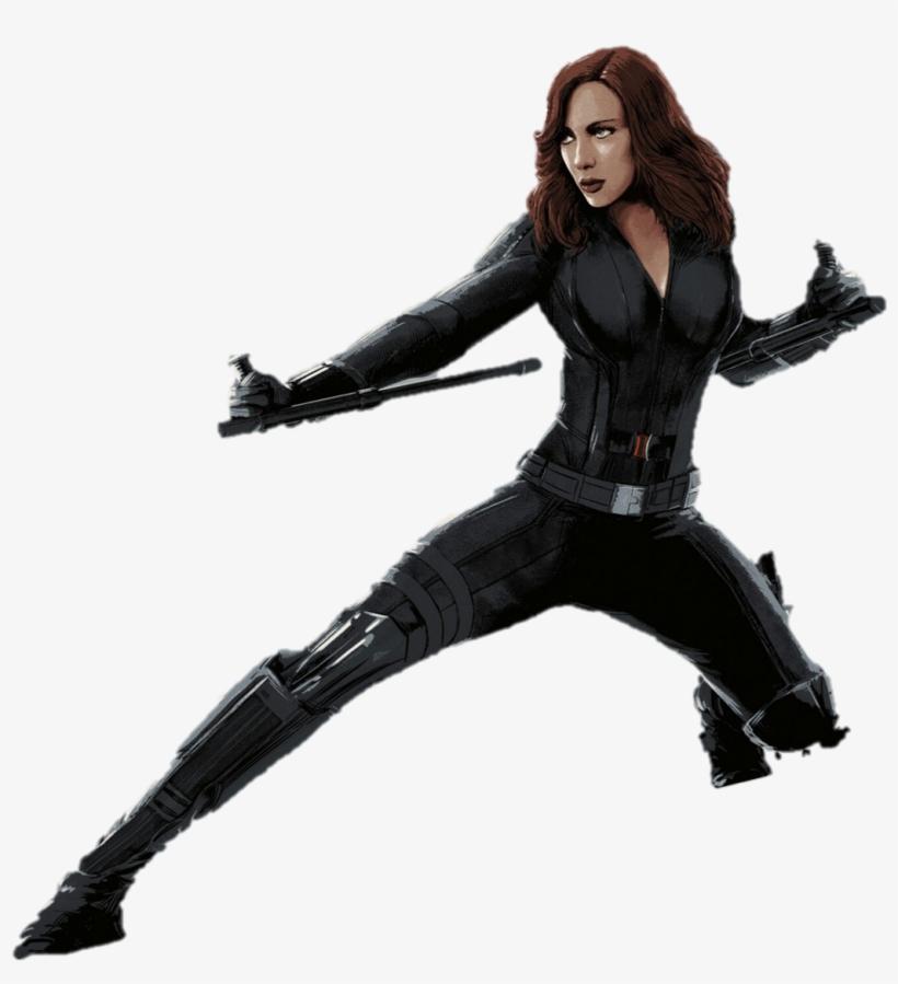 Marvel Black Widow Png.