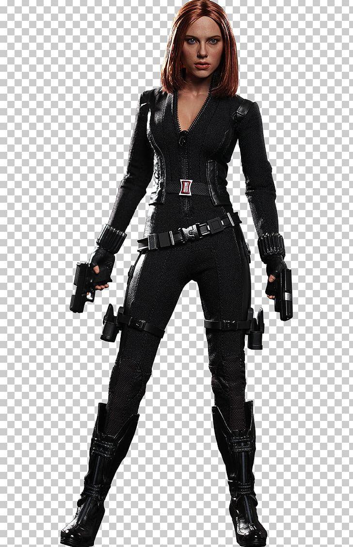 Scarlett Johansson Captain America: The Winter Soldier Black Widow.