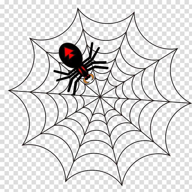 Spider web Drawing , spider transparent background PNG.
