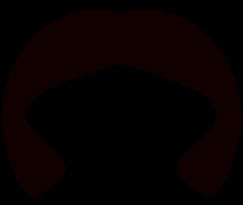 Free Clipart: Black wig 2.