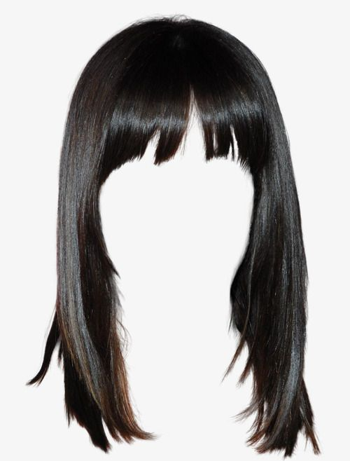 Western Style Black Hair Wig Free To Pull The Material.