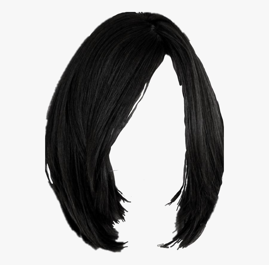 Black Wig Png.