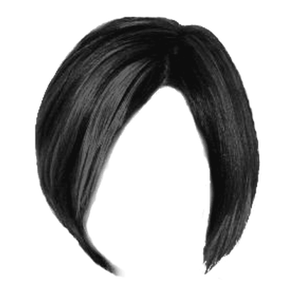 Short Red Women Hair transparent PNG.