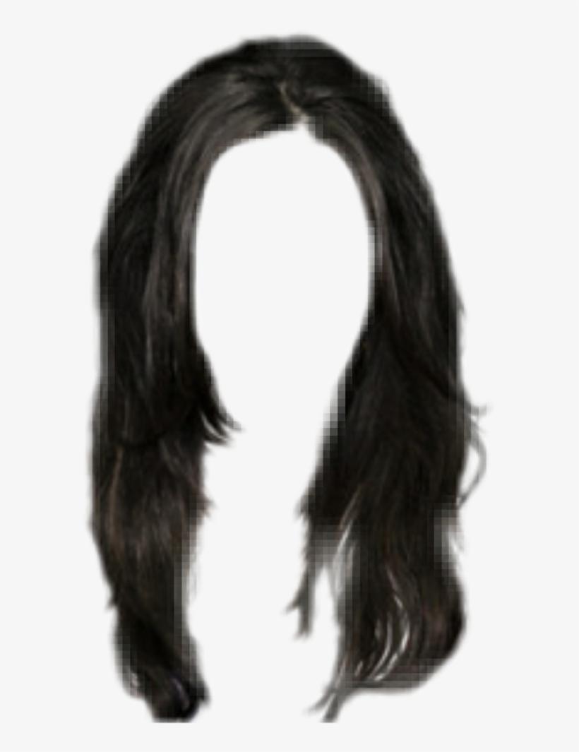 Hair Hairblack Black Wig Peruca Lace.