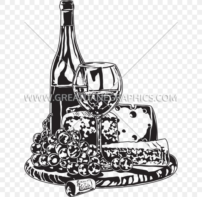 Wine Clip Art Image Glass Bottle Cheese, PNG, 622x800px.