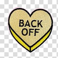 Yellow and black back off transparent background PNG clipart.