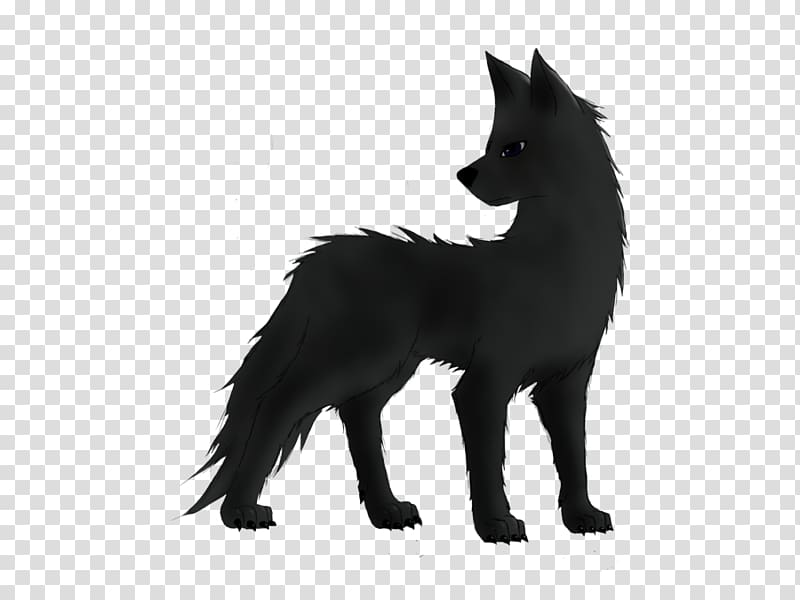 Dog Black wolf Drawing Anime Canidae, BLUE WOLF transparent.