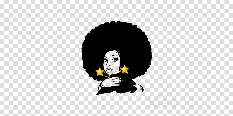 Black Girl With Afro Drawing at PaintingValley.com.