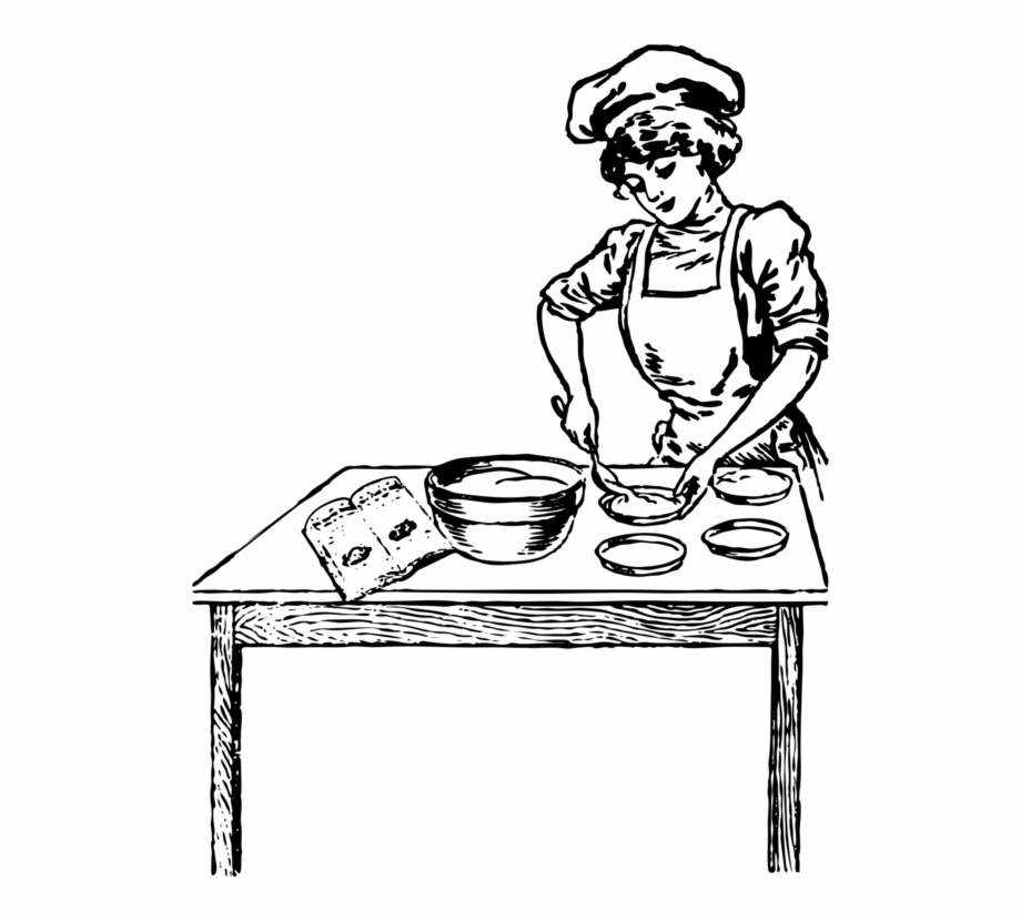 Free Chef Clipart Black And White, Download Free Clip Art.