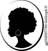 Black Woman Clip Art.
