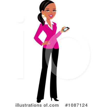 Black Woman Clipart #1073216.