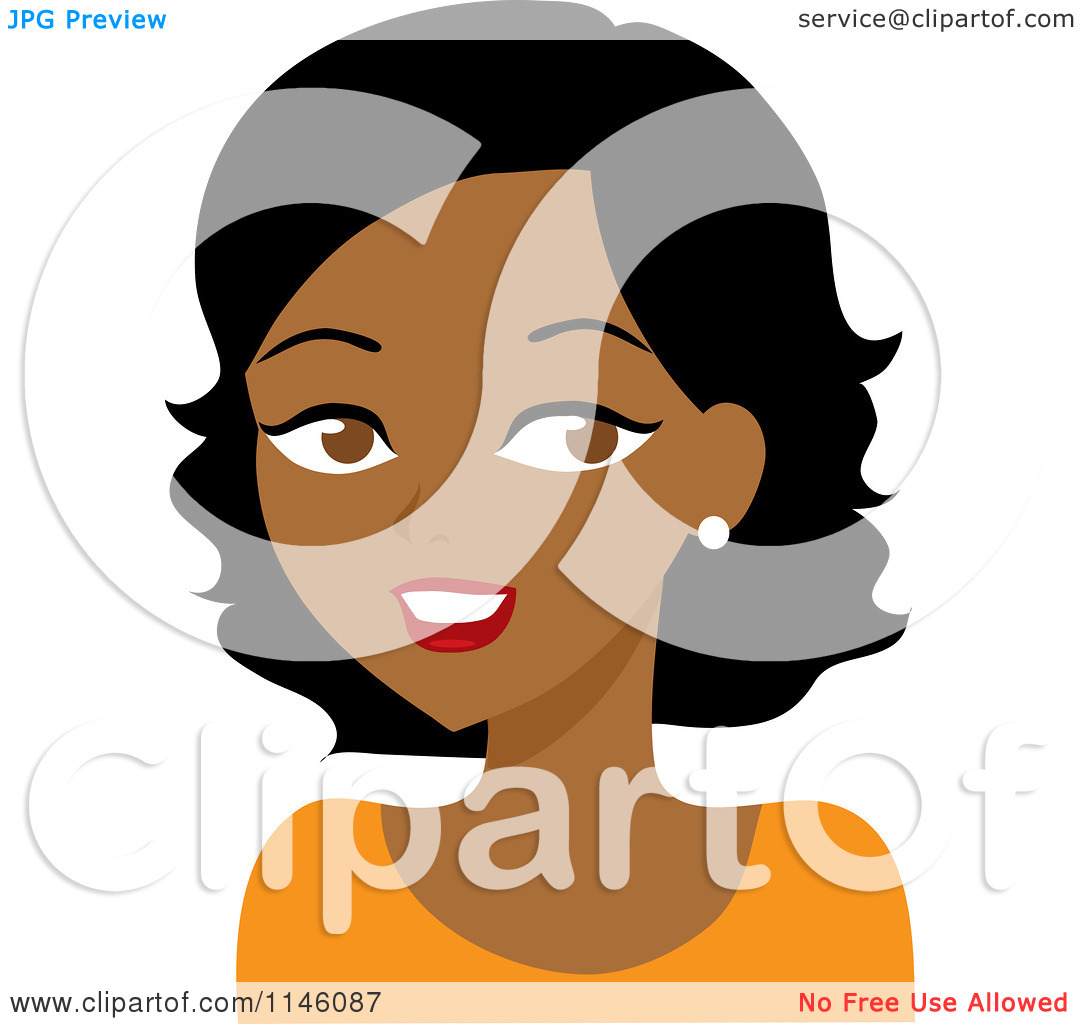Woman Black Clipart.