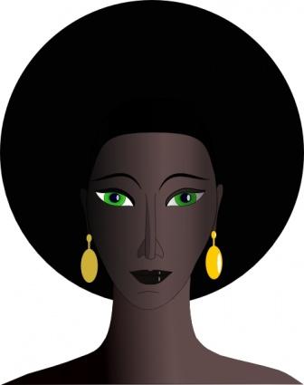Black Woman Clipart Free.