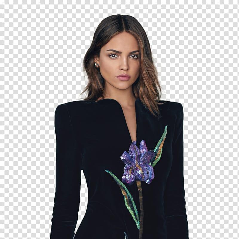 Watchers Model, woman in black long.