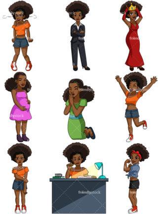 Black Woman Praying.