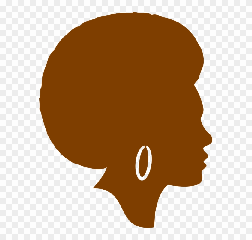 African American Woman Clipart.