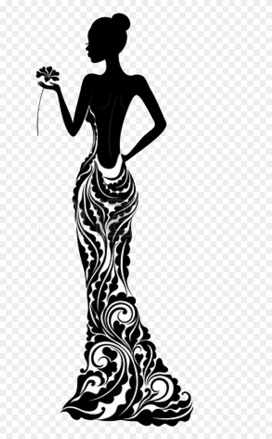 Fashion Mannequin Silhouette At Getdrawings Com Free.