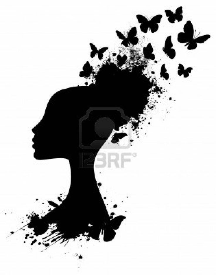 Image result for black woman silhouette.