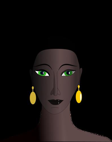 25871 free black woman silhouette clip art.