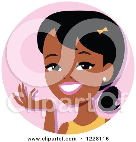 black women color caricature clipart #18