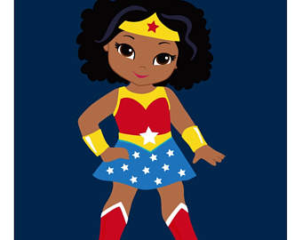 2030 Wonder Woman free clipart.