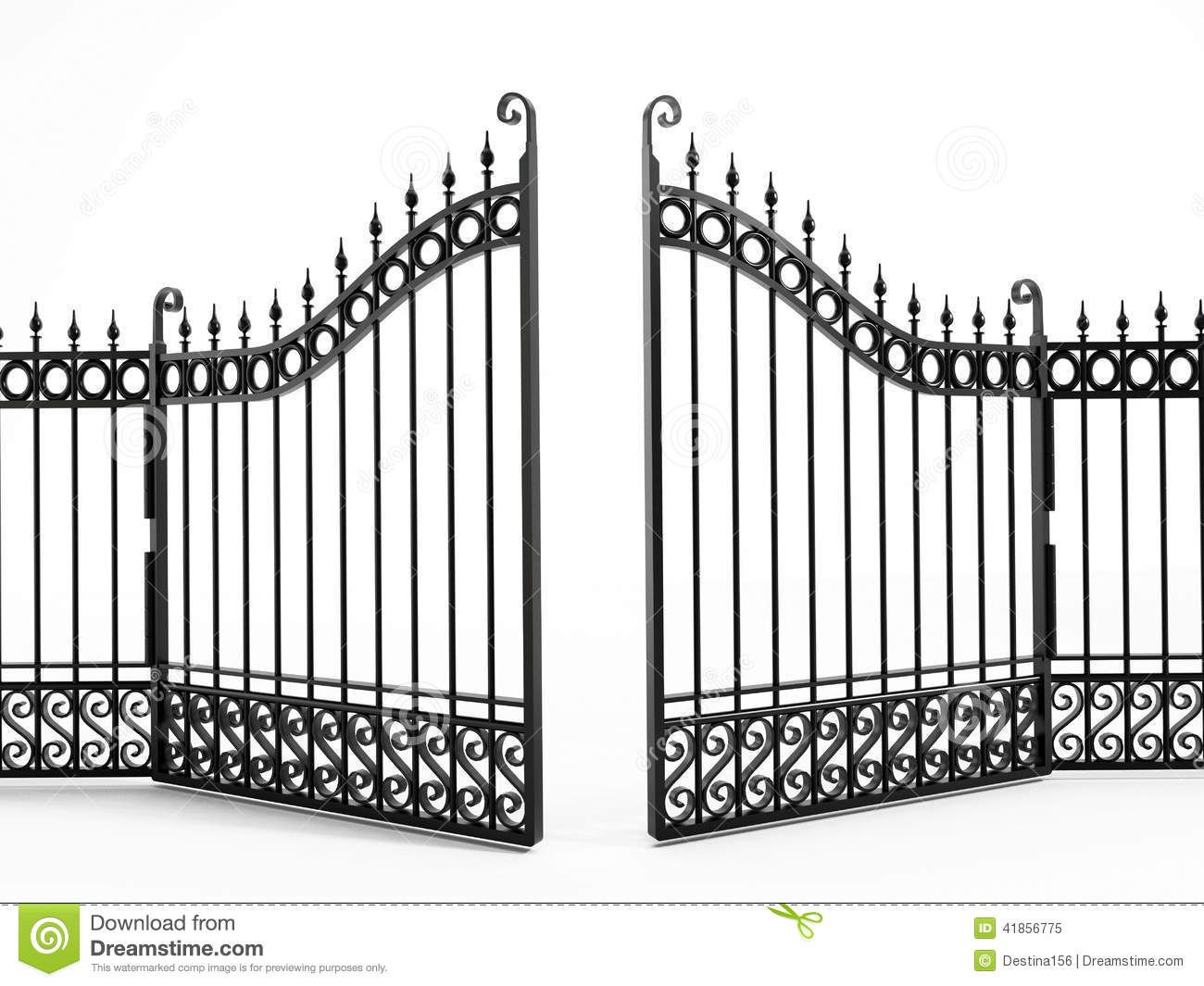 clipart fences and gates.