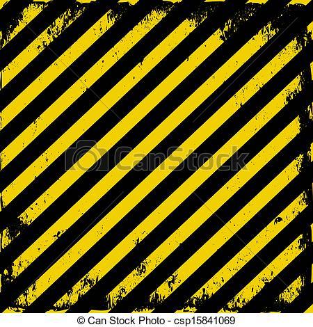 Clip Art Vector of Barricade tape.