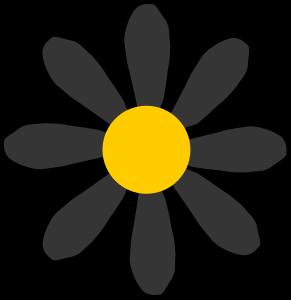 Clip Art Black Yellow Clipart.