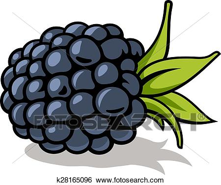Blackberry Clip Art.
